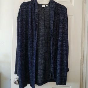 GAP hooded cardigan- S tall NWOT